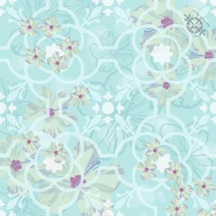 DEVINIE BLUE FLOWER